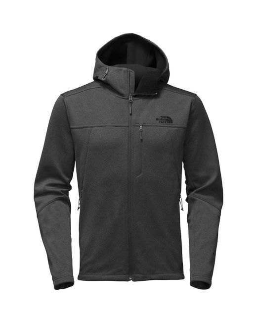 The North Face - Gray Apex Canyonwall Hybrid Hooded Jacket for Men - Lyst