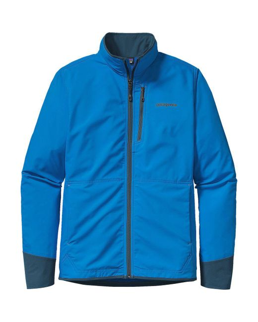 Patagonia | Blue All Free Softshell Jacket for Men | Lyst