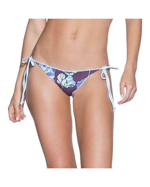 Maaji - Crystal Blue Sunny Reversible Bikini Bottom - Lyst