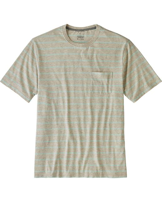 Patagonia - White Squeaky Clean Pocket T-shirt for Men - Lyst