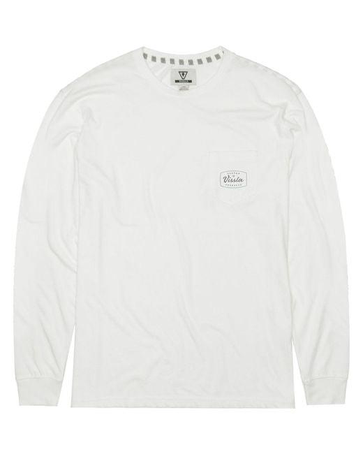 a3417fd584 Lyst - Vissla Rodeo Long-sleeve Pocket T-shirt in White for Men