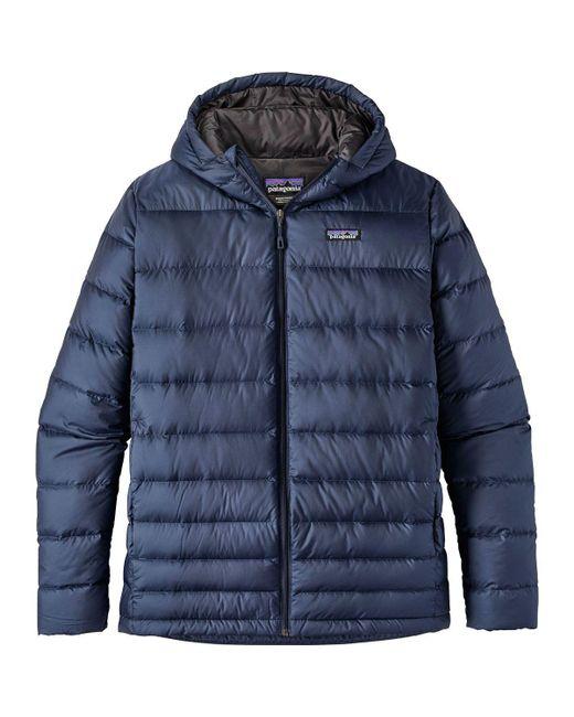 Patagonia - Blue Hi-loft Hooded Down Jacket for Men - Lyst