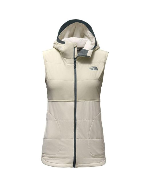 The North Face - Natural Mountain Sweatshirt Hooded Vest - Lyst