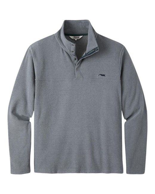Mountain Khakis - Gray Pop Top Pullover Sweater for Men - Lyst