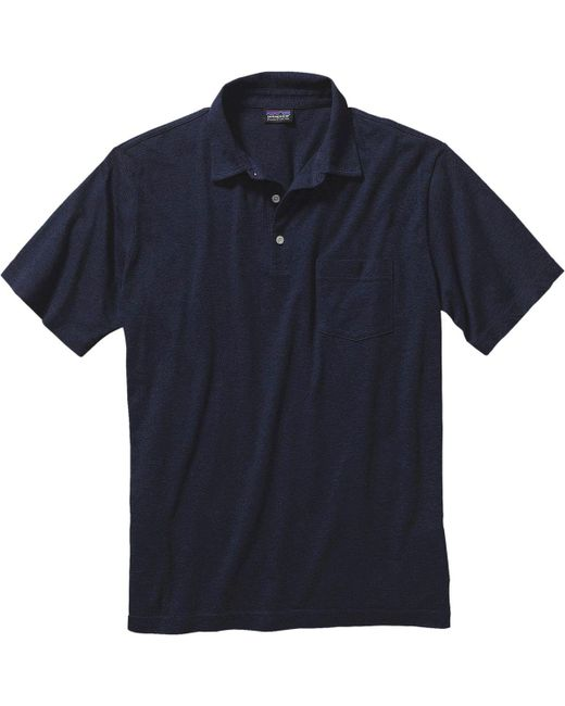 Patagonia - Blue Squeaky Clean Polo Shirt for Men - Lyst