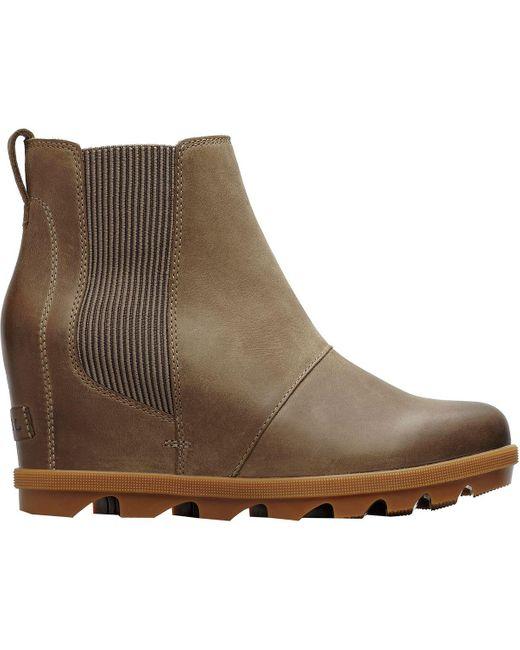 Sorel Brown Joan Of Arctic Wedge Ii Chelsea Boot