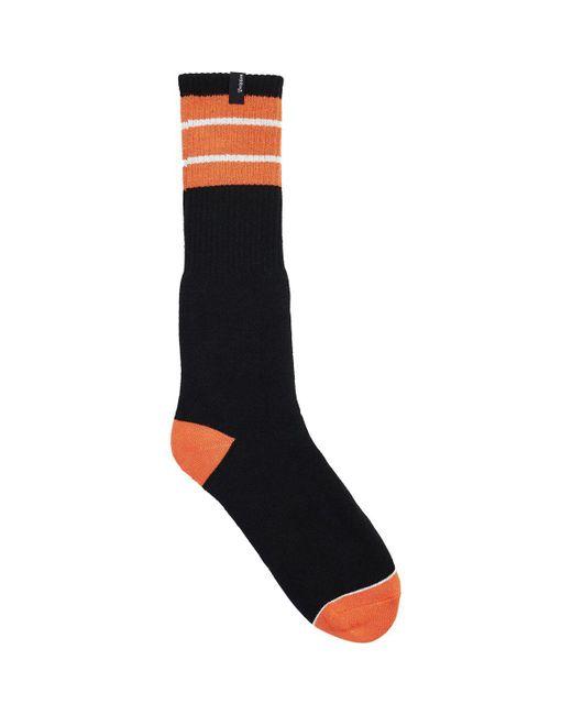 Lyst - Brixton Alameda Sock in Black for Men 0b5831869