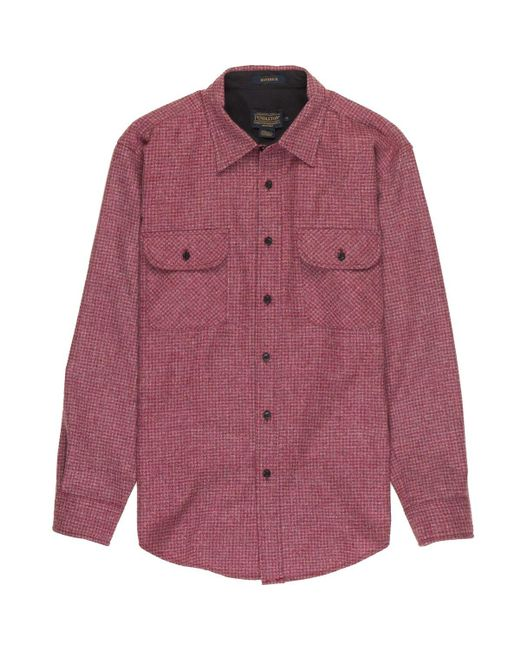 Pendleton | Red Maverick Merino Shirt for Men | Lyst
