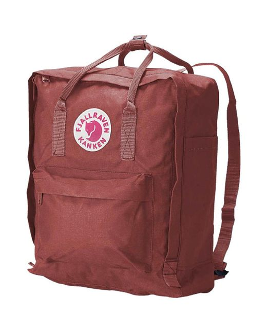 Fjallraven - Red Kanken 16l Backpack for Men - Lyst