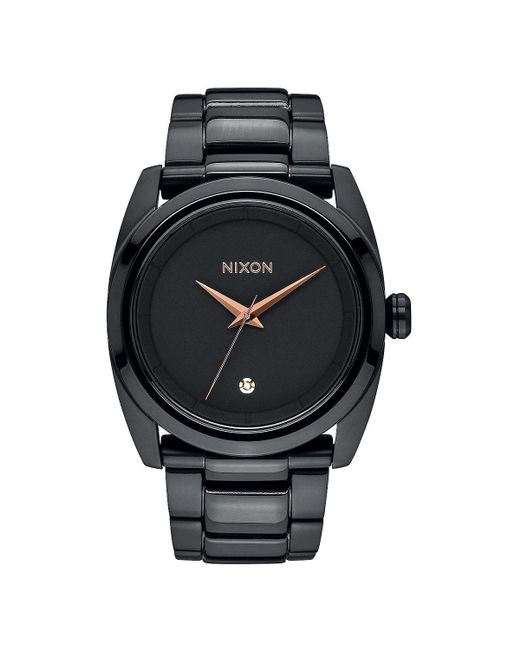 Nixon - Black Queenpin Watch - Lyst