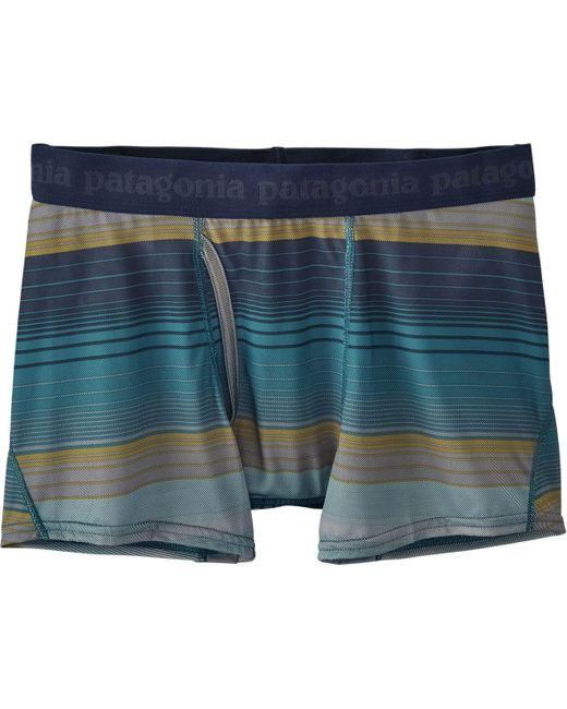 Patagonia | Blue Capilene Daily Boxer Brief for Men | Lyst