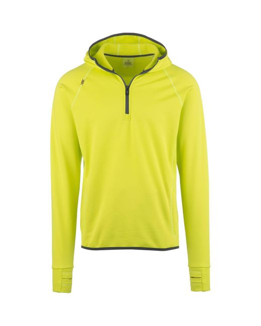 Rhone | Yellow Lakota Running Hoodie for Men | Lyst