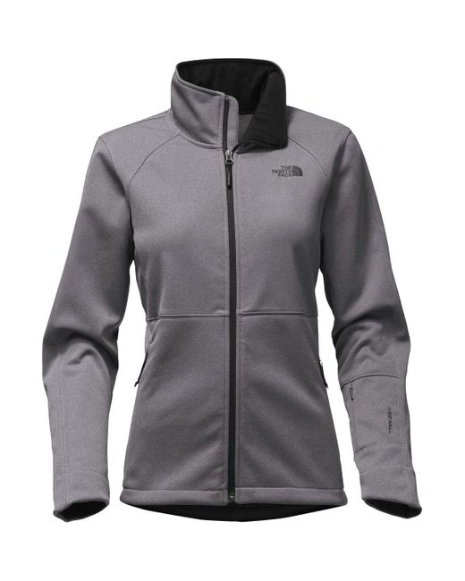 The North Face | Gray Apex Risor Softshell Jacket | Lyst