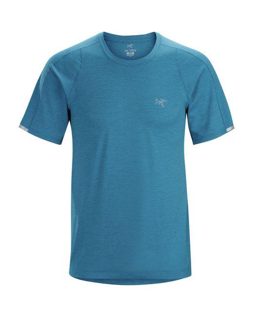 Arc'teryx - Blue Cormac Crew Short-sleeve Shirt for Men - Lyst
