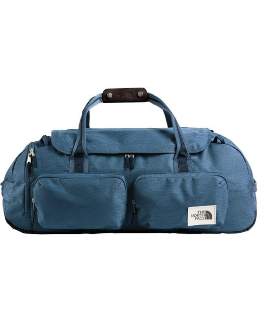 16177b55c5af Lyst - The North Face Berkeley Large Duffel in Blue for Men