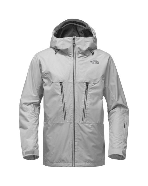 The North Face | Gray Thermoball Snow Triclimate Hooded Jacket for Men | Lyst