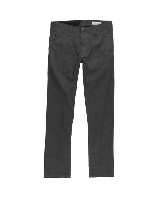 Volcom - Gray Frickin Modern Stretch Chino Pant for Men - Lyst