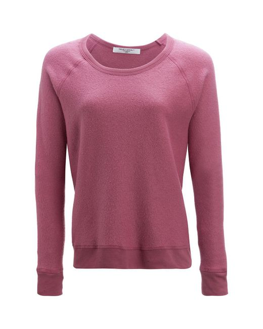 Project Social T - Purple Be The One Raglan Sweatshirt - Lyst