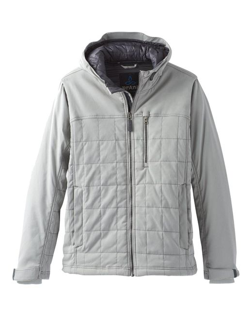 Prana - Gray Zion Quilted Jacket for Men - Lyst