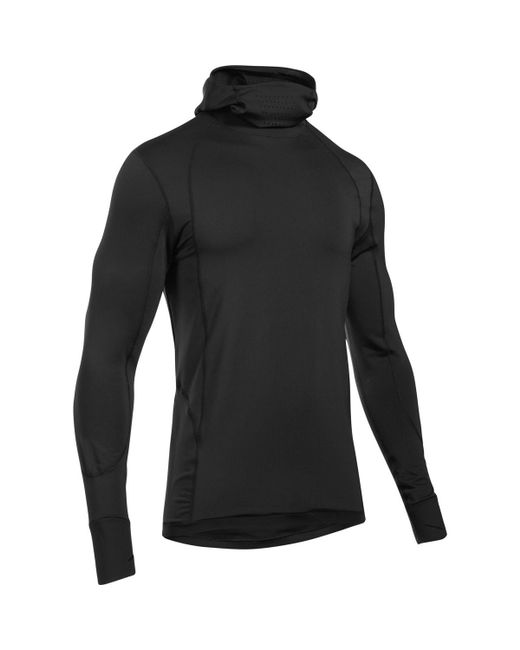 Under Armour - Black Cg Reactor Run Balaclava Pullover Hoodie for Men - Lyst