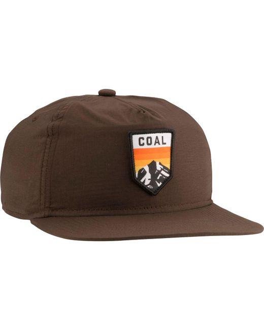 Coal - Brown Summit Snapback Hat for Men - Lyst