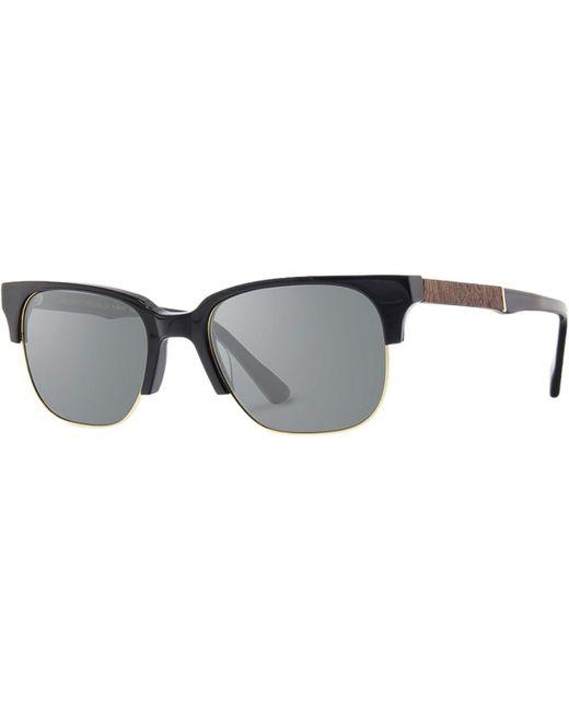 44886194f3c5 Lyst - Shwood Newport 52mm Polarized Sunglasses in Black for Men