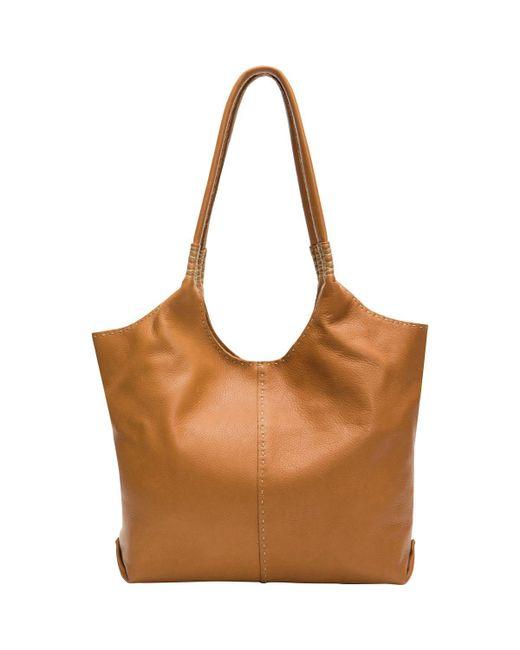 Frye - Brown Naomi Pickstitch Shoulder Bag - Lyst