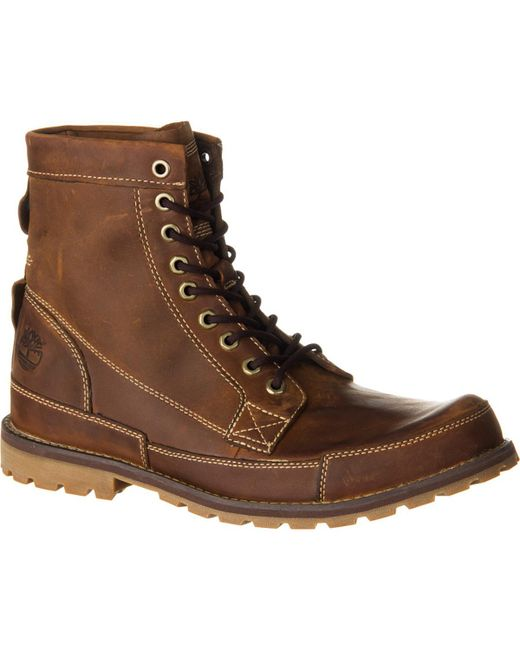 Timberland | Brown Earthkeepers Rugged Originals Leather 6in Boot for Men | Lyst
