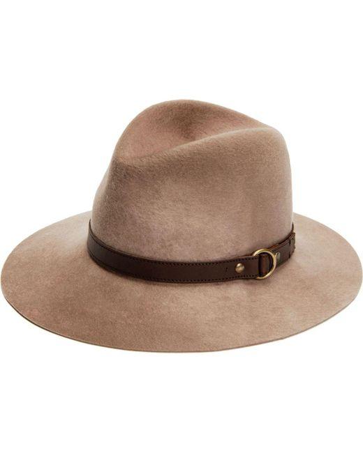Frye - Brown Addie Hat - Lyst