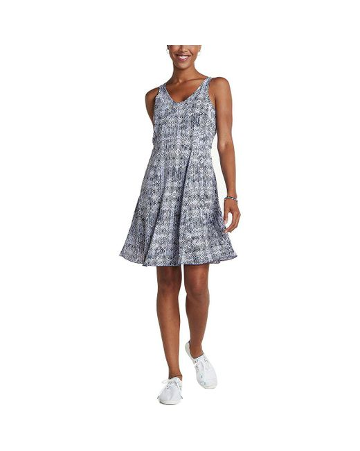 Toad&Co - Blue Sunkissed Cutout Dress - Lyst