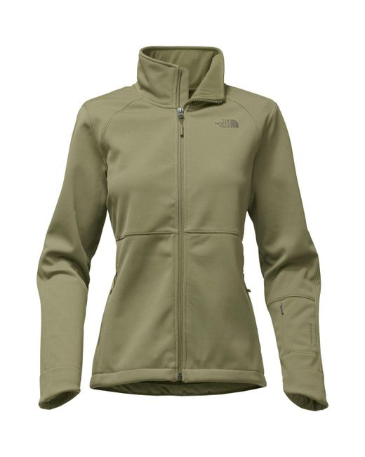 The North Face - Green Apex Risor Softshell Jacket - Lyst
