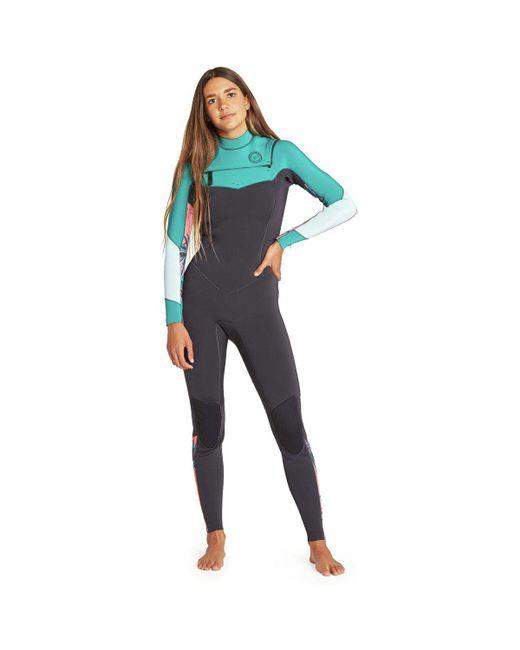 Lyst - Billabong 3 2 Salty Dayz Chest-zip Full Wetsuit in Green a330194e9