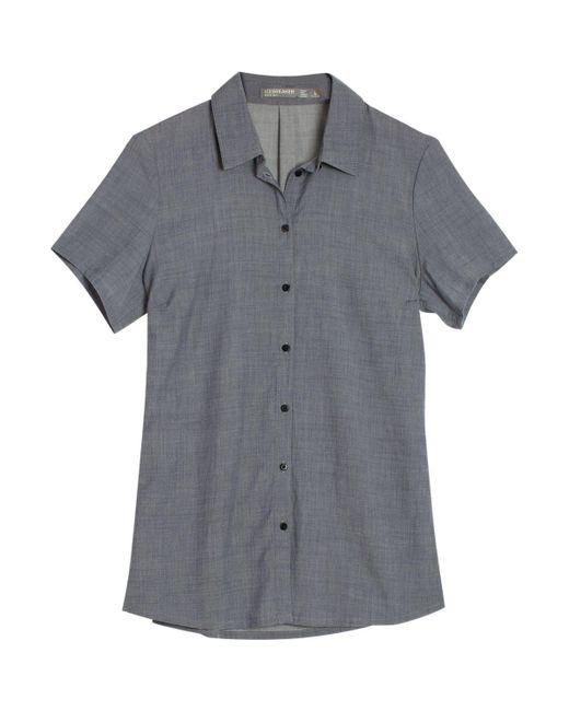 Icebreaker - Gray Kala Shirt - Lyst