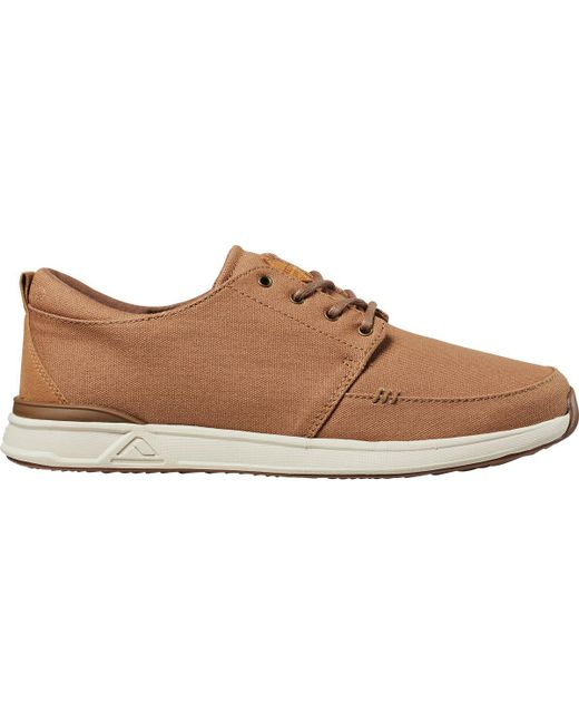 Reef - Brown Rover Low Shoe for Men - Lyst
