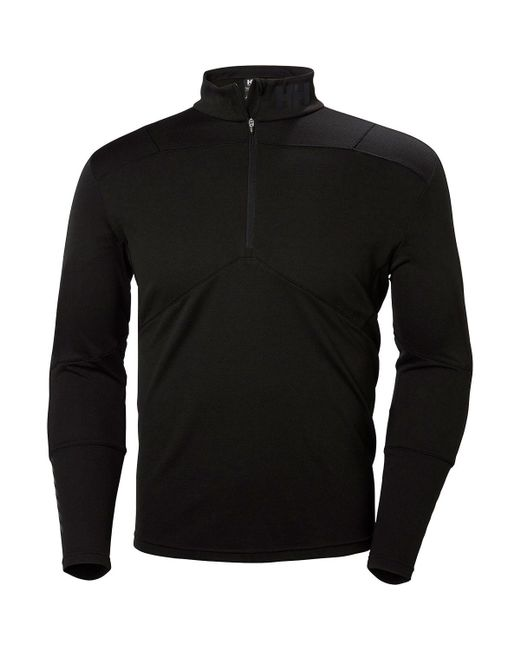Helly Hansen   Black Lifa Active Midweight Top - Long-sleeve for Men   Lyst