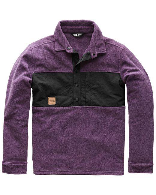 The North Face - Purple X Vans Davenport Pullover Jacket for Men - Lyst
