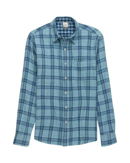 Faherty Brand - Blue Reversible Belmar Shirt for Men - Lyst