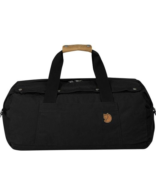 Lyst - Fjallraven Gear Duffel And Backpack Bag in Black for Men 2bf4b33016186