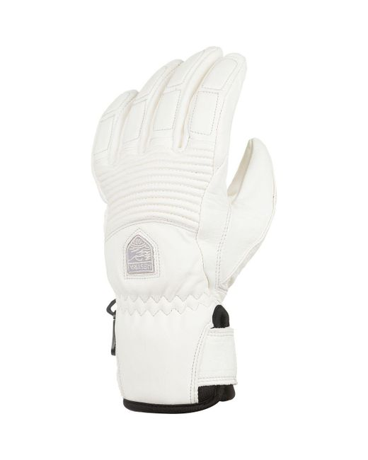 Hestra - White Leather Fall Line Glove - Lyst