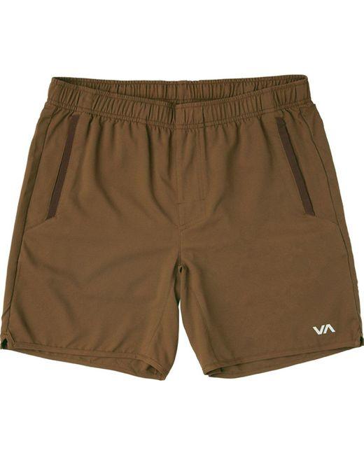 RVCA - Green Yogger Iii Short for Men - Lyst