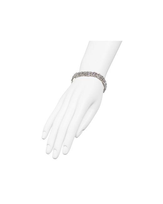 Nadri   Metallic Fantasia Cubic Zirconia Tennis Bracelet   Lyst