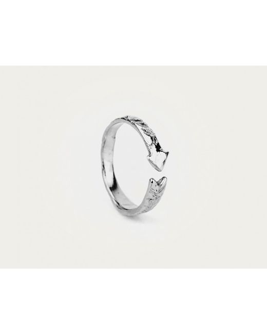 Odette New York | Metallic Arrow Ring Silver | Lyst
