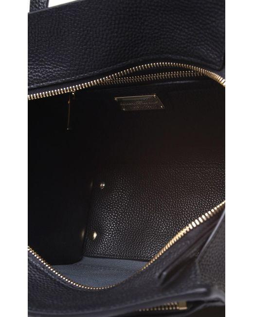 a30162658eea ... Ferragamo - Black Amy Small Pebbled-leather Crossbody Bag - Lyst