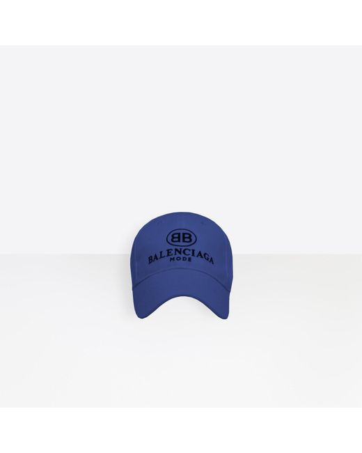 Balenciaga - Blue Gorra BB Mode for Men - Lyst