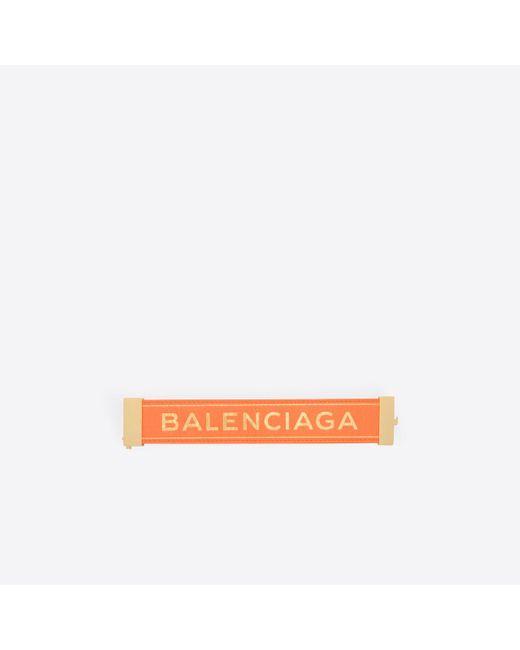 Balenciaga   Orange Blanket Bracelet   Lyst