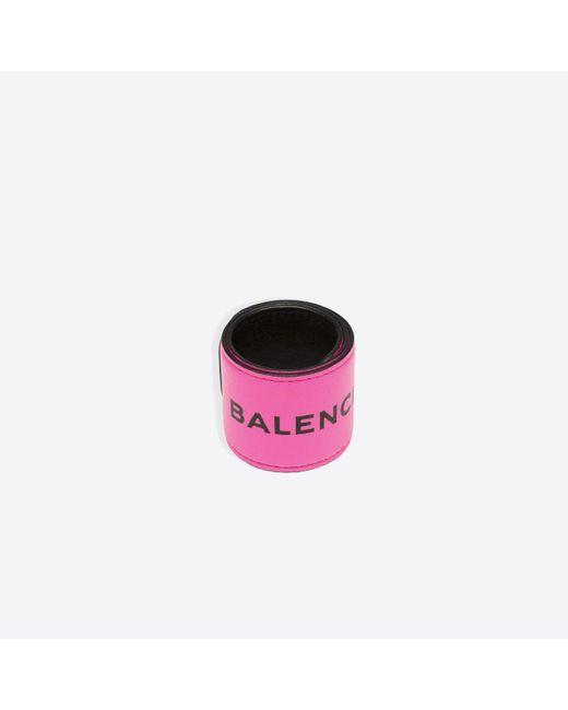 Balenciaga | Pink Cycle Bracelet | Lyst
