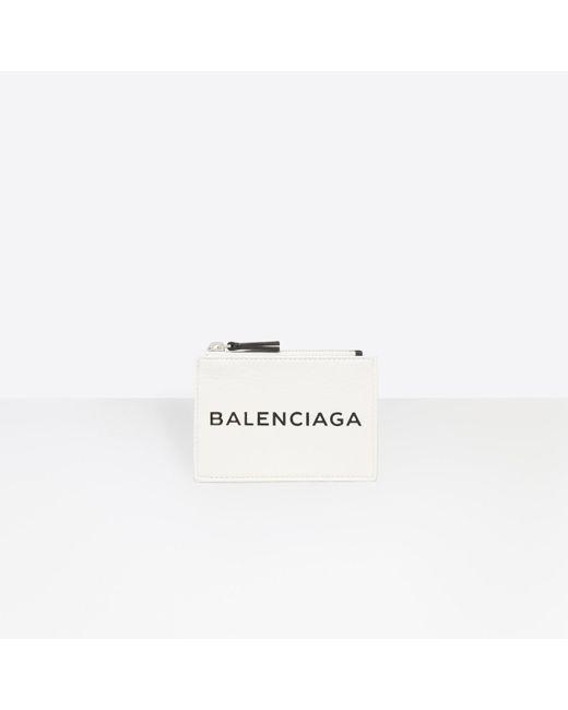 Balenciaga - Multicolor Shopping Zip Card Holder for Men - Lyst