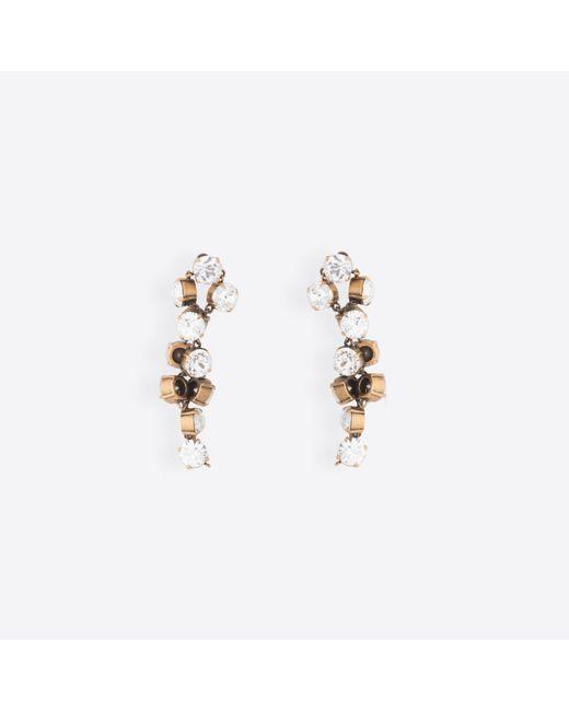 Balenciaga - Metallic Twist Earrings - Lyst