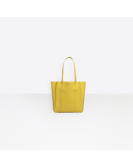 0d2468d6181a Balenciaga - Yellow Everyday Tote Xs - Lyst ...