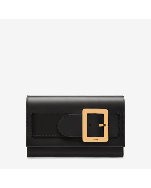 Bally | Black Belle Clutch Bag | Lyst